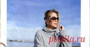 Стильная модная туника Бриз от Светланы Волкодав. туника,тепло и уютно,вязание на спицах,бесплатное описание,вяжем стильные вещи,ультрамодная туника спицами, описание, вяжем стильную тунику,волкодав,