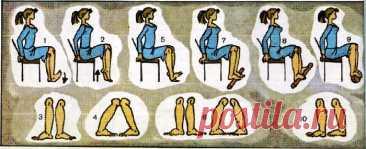 Упражнения от плоскостопия у детей и у взрослых