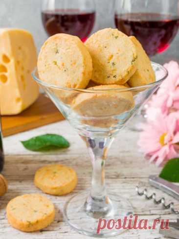 Рецепт сырного печенья с тимьяном на Вкусном Блоге