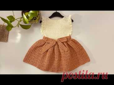 How to Crochet Simple And Elegant Dress