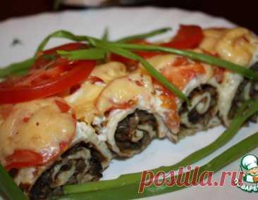 Грибная закуска с творогом – кулинарный рецепт