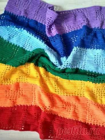 Пряжа для вязания пледа | Записки вязальщицы | Яндекс Дзен