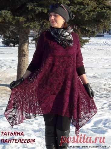 La túnica de filete. El autor Tatiana Panteleeva (la idea de Alena Koblyansky)