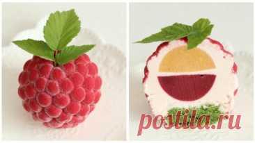 Муссовое Пирожное с Очень Вкусной Начинкой