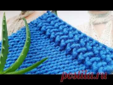 Супер идея для вязания вертикальной планки 💤💓👀knitting pattern. - YouTube