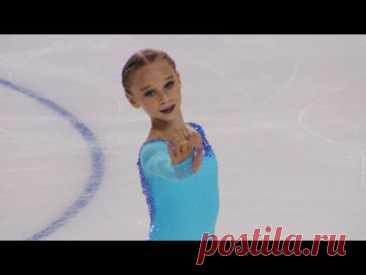 Вероника Жилина. Произвольная программа. Девушки. Гран-при по фигурному катанию среди юниоров 2021