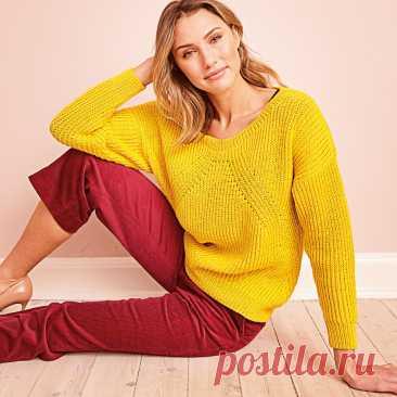 Модели спицами с описанием в очень красивом желтом цвете. | Вязалкина | Яндекс Дзен