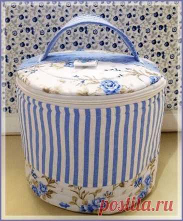 La bolsa para los accesorios de coser