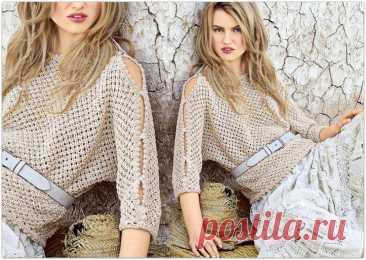 Сдержанно и стильно: женские вязаные модели в бежевом цвете | Paradosik_Handmade | Яндекс Дзен