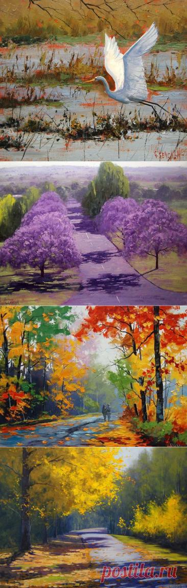 Упоительные пейзажи художника Graham Gercken