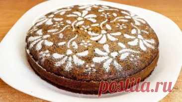 Постный апельсиновый пирог с маком - видео рецепт - Домохозяйки - медиаплатформа МирТесен