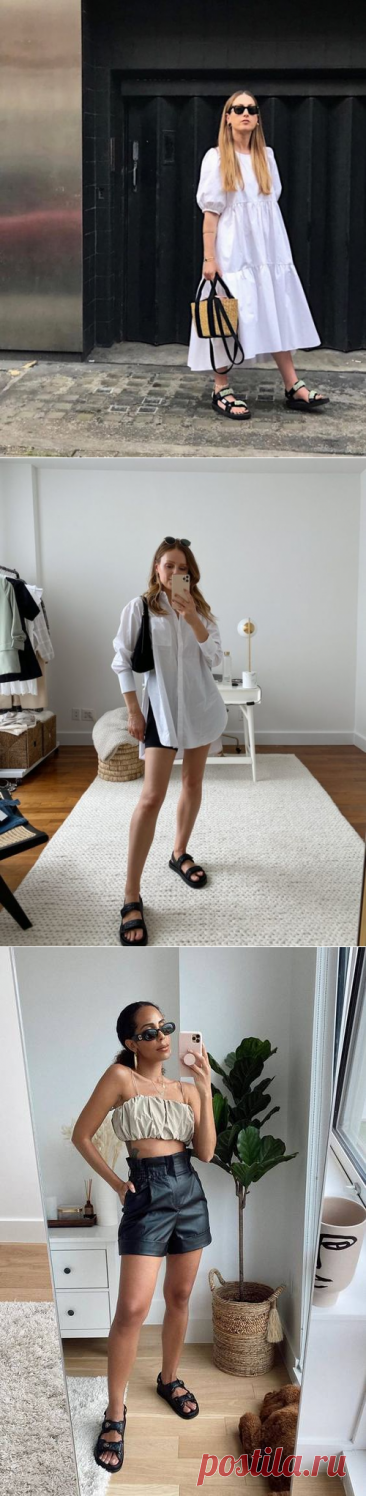 Spring Biggest Trend: Style With Dad Chunky Sandals |