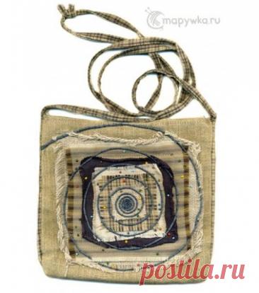Пэчворк-сумка ручной работы - купить | Вещи ручной работы | HANDMADE интернет-магазин