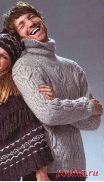 Men's sweater spokes.