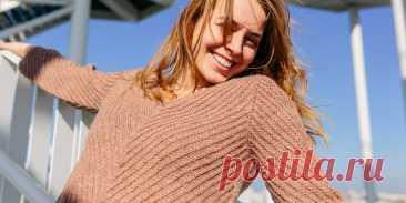 Бесшовный пуловер Ley Lines - Вяжи.ру