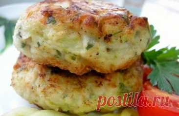 Vegetable marrows cutlets - Simple recipes of Овкусе.ру