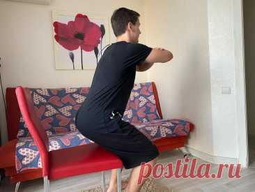 """""""Помогаем коленям"""": 3 простых и безопасных упражнения для и проработки и укрепления коленного сустава   Фитнес """"по-домашнему""""   Яндекс Дзен"""