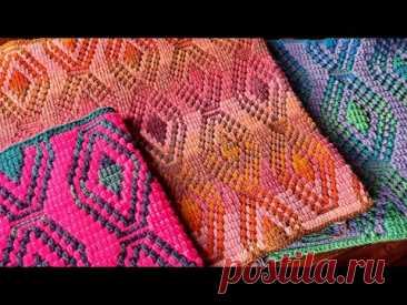 Moroccan Lantern Mosaic Crochet Tutorial - Overlay Crochet work Flat or In The Round
