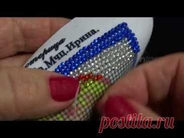 ЗРЕНИЕ: первый шаг для тех, кто хочет ВИДЕТЬНачало вышивки иконы бисером. Игольница своими руками.