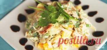 La ensalada de gallina con el apio - poshagovyy la receta de la foto en Повар.ру