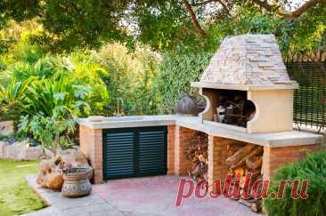Рецепт загородного отдыха — летняя кухня на даче своими руками — Ботаничка.ru