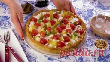 #Греческий #пирог #с #мясом