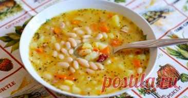 Фасолевый суп | OnlyVEG