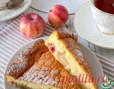 Йогуртовый яблочный пирог – кулинарный рецепт