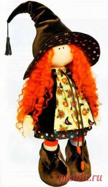Волшебная кукла своими руками.