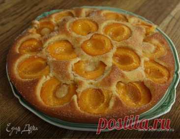 Абрикосовый пирог Пошаговый рецепт с ингредиентами и фото