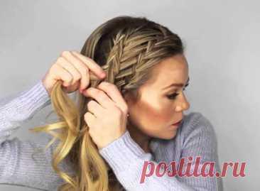 Прически на длинные волосы своими руками в домашних условиях