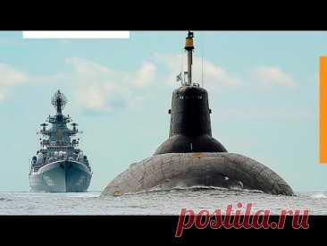 Внутри самой мощной ядерной подводной лодки в мире - YouTube