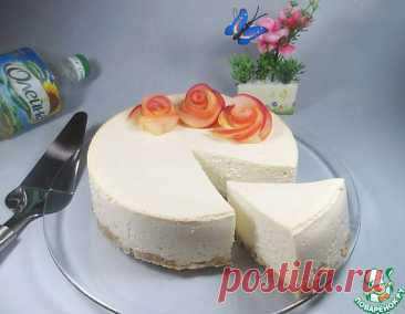 Dietary apple and cottage cheese cheesecake