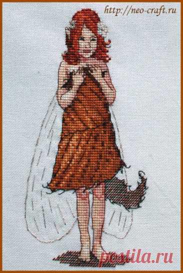 Рыжуля (арт.вл-10 Neocraft) набор для вышивания крестом купить в Stitch и Крестик