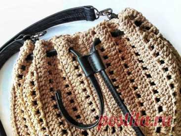 Мастер-класс : Вяжем сумку | Журнал Ярмарки Мастеров