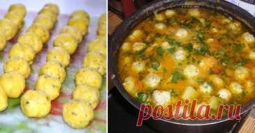 Наваристый суп с сырными шариками: вкусный и изысканный вариант супчика