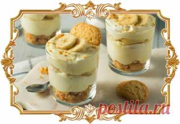 #Нежный #десерт #из #ряженки #с #бананом. Готовится элементарно! (#рецепт #для #мультиварки, и #для #детей и не только)  Захотелось приготовить что-нибудь сладкое к чаю без лишних хлопот? Сделайте этот безумно простой, но вкусный десерт всего из трёх ингредиентов.  Время приготовления: Показать полностью...