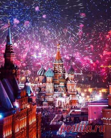 Новый Год 2021 в разных странах.