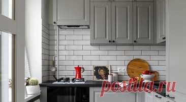 12 замечательных кухонь в хрущевках, которые вас удивят Собрали разнообразные проекты маленьких кухонь в типовых домах на любой вкус — от уютного сканди до минимализма.