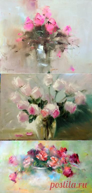 Восхитительная красота натюрмортов В. Трубанова
