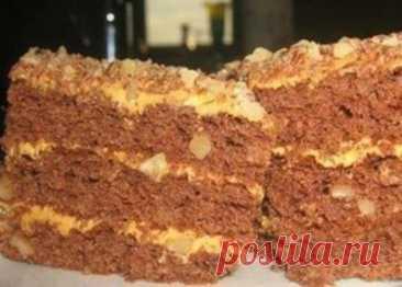 Торт под сказочным детским названием «Золотой ключик». Любимое лакомство каждого со вкусом детства! - Образованная Сова