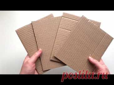 6 идей из картона своими руками