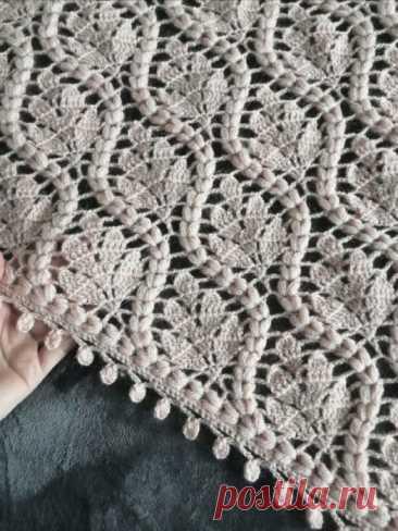 Изумительно красивый узор для вязания