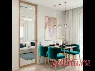 Design of the one-room apartment