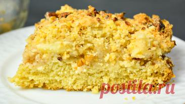 Знаменитый песочный пирог - тот самый, который готовили наши бабушки. Быстро, легко и весело | ЧТО ГОТОВИТЬ | Яндекс Дзен
