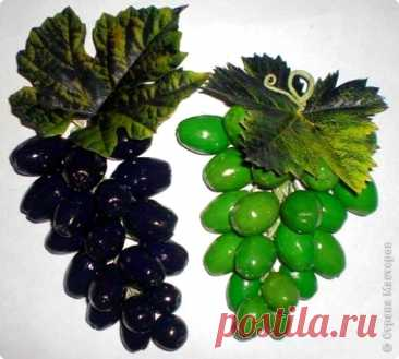 Виноград из желудей (мастер-класс)