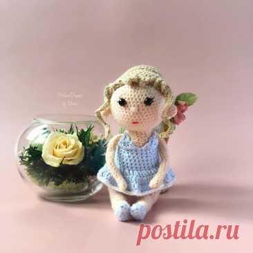 Вязаная куколка Лолли: описание крючком | AmiguRoom