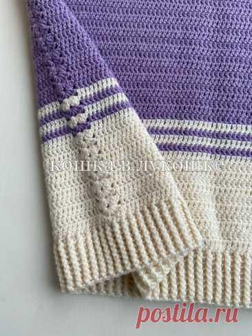 Простой свитер крючком. Сравнение методов расчёта петель реглана. Схемы