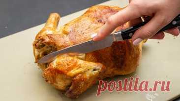Открыла для себя новый способ приготовления курицы-гриль, мясо получается сочное и нежное | Евгения Полевская | Это просто | Яндекс Дзен