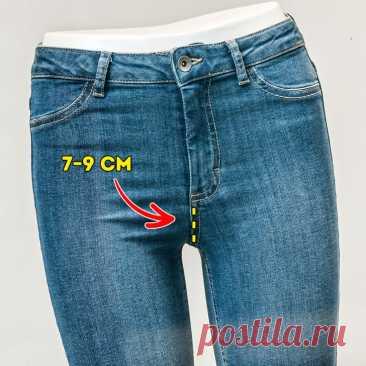 10 советов о том, как выбрать джинсы, которые сядут как влитые и прослужат долго   Всегда в форме!
